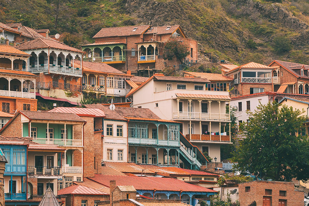 tbilisi district of old town